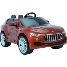 maserati red kids maserati levante style 4x4 12v electric jeep red