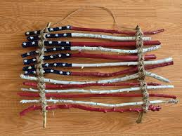 Home Depot Labor Day Paint Sale by Rustic Primitive American Flag Made From Sticks I Found In The
