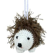 crochet hedgehog ornament ten thousand villages canada