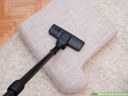 Solvent Based Cleaner For Upholstery How To Clean Upholstery With Pictures Wikihow