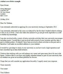 student cover letter example resumes and cover letters