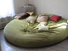 Large Bean Bag Chairs Giant Bean Bag Bed Http Home Arizonafallfrenzy Com Giant Bean
