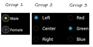 android radio button android radiogroup radiobutton tutorial