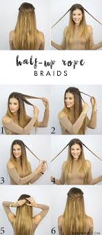 hairstyles for back to school for long hair 6 heatless back to school hairstyles luxy hair