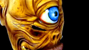 deady bear spirit halloween cyclops horror son of poseidon hand crafted halloween latex mask