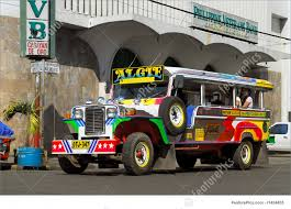 philippines jeepney vector image of colorful filipino jeepney