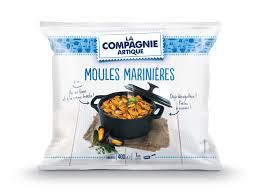 moules cuisin馥s faire savoir faire marché frais surgelés des moules marinières
