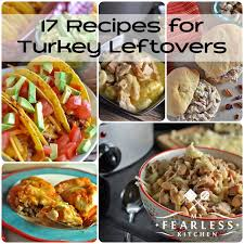 17 recipes for turkey leftovers my fearless kitchen