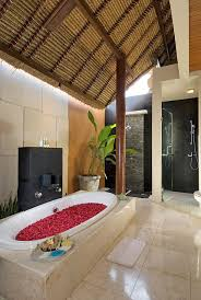 Top Balinese Bathroom Design  Imperial Villa Bathroom Ensuite - Bali bathroom design