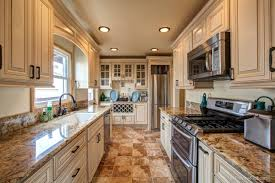 fully custom remodeled kitchen granite counter tops self