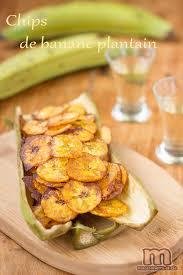 cuisiner la banane plantain chips de banane plantain macaronette et cie