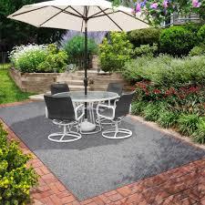floor u0026 rug outdoor dining set and patio umbrella with patio