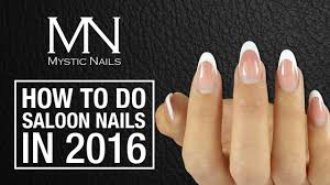 mystic nails how to do salon gel nails with classic line