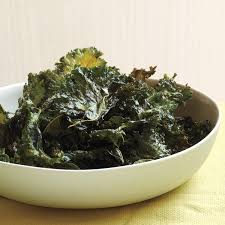chili sauce kale chips