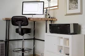 Diy Corner Desk Ideas Imovr Standing Corner Desks Review For Stylish Residence Corner