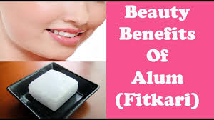 alum photo फ टकर alum beauty benefits of alum remove hair