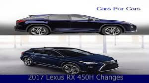 lexus 3rd row crossover 2017 lexus rx 450h changes in model youtube