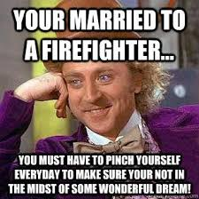 Meme Annoyed - married to a firefighter annoyed by the spelling of your happily