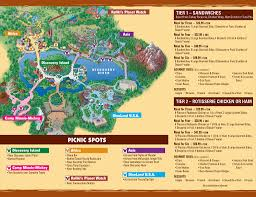 Animal World Map by Picnic In The Park Guide Map And Information Photo 1 Of 2