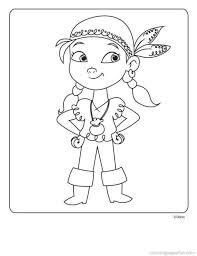 jake land pirates coloring pages 2 free printable