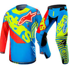 motocross gear package deals new alpinestars 2018 mx le techstar venom jersey pants union