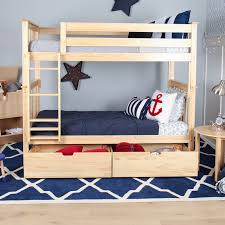 Solid Wood Bunk Beds With Storage Bunk Beds With Storage Max Solid Wood Bed Drawer 6