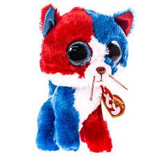 ty spirit patriotic cat beanie boo toys games toys plush