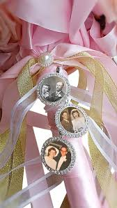 Engraved Charms Pics2jewels Wedding Bouquet Charm Bridal Gift Engraved Charm