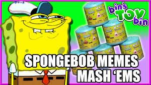 Meme Toys - spongebob memes mash ems bin s toy bin youtube
