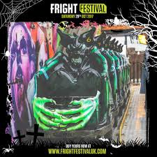Halloween Ghost Train by Fright Festival On Twitter