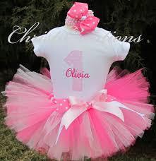 1st birthday pink baby girl birthday tutu