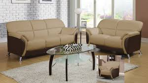 Chocolate Living Room Set U9103 Living Room Set Cappuccino Chocolate Buy At Best