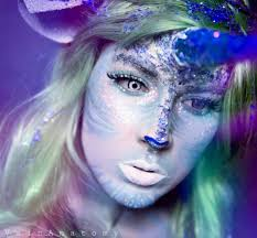 Unicorn Halloween Makeup by Lisa Frank Inspired Make Up Is What Our Glitter Rainbow Dreams Are