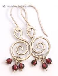 How To Make Jewelry Out Of Wire - 13 best earring designs images on pinterest jewelry ideas wire