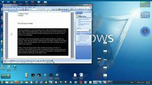 Form For A Business Letter how to write a business letter useing microsoft word youtube