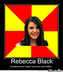 Rebecca Black Meme - rebecca black by mercedie93 meme center