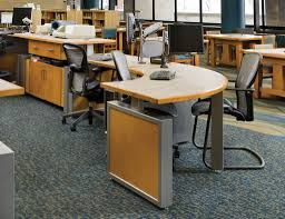 Modular Desk Components by Circulation Desks Archives Demco Interiors