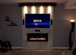 Napoleon Electric Fireplace Linear Electric Fireplace Reviews Napoleon Costco Best Built In