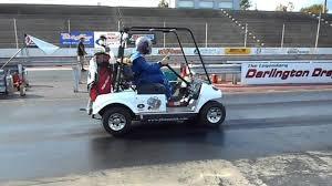 watch the world u0027s fastest golf cart drag race at 118 mph