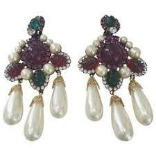 Gunmetal Chandelier Earrings Fashion Chandelier Earrings 171 For Sale At 1stdibs