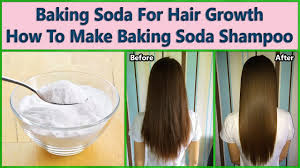 baking soda for hair growth how to make baking soda shampoo youtube