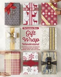 container store christmas wrapping paper gift wrap by the container store