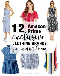 dress brands 12 prime exclusive clothing brands you didn t the