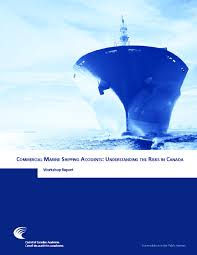 Book Report Commercial Council Of Canadian Academies Cca Commercial Marine Shipping