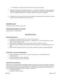 Staff Nurse Job Description For Resume by Patient Care Coordinator Job Description
