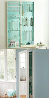 Jewelry Cabinets Wall Mounted by Best 25 Mirror Jewelry Storage Ideas On Pinterest Jewelry
