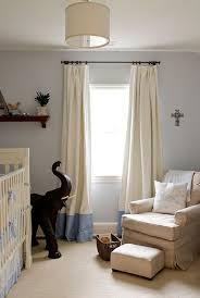 Two Tone Drapes Boy U0027s Rooms Blue Gray Walls Tan Microfiber Glider Ottoman Ivory
