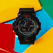 Jam Tangan Casio New casio g shock ga 700se 1a9 analog digital watches neon color