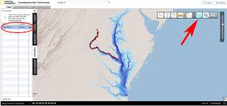 Chesapeake Bay Map Chesapeake Bay Fieldscope 2 0