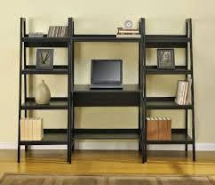 Steel Frame Bookcase Ladder Shelf